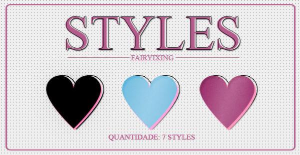 +styles 8 | fairyixing