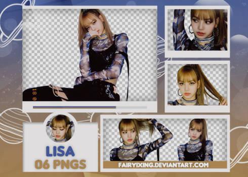 [PNG PACK #669] Lisa - BLACKPINK (180708)