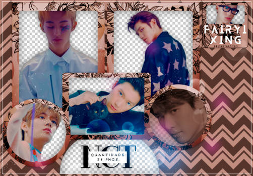 [PNG PACK #702] NCT - NCT 2018 YEARBOOK