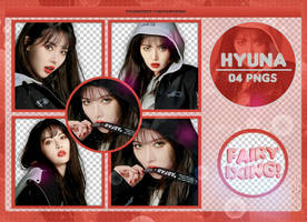[PNG PACK #804] HyunA - (FAKE NOMCORE) by fairyixing