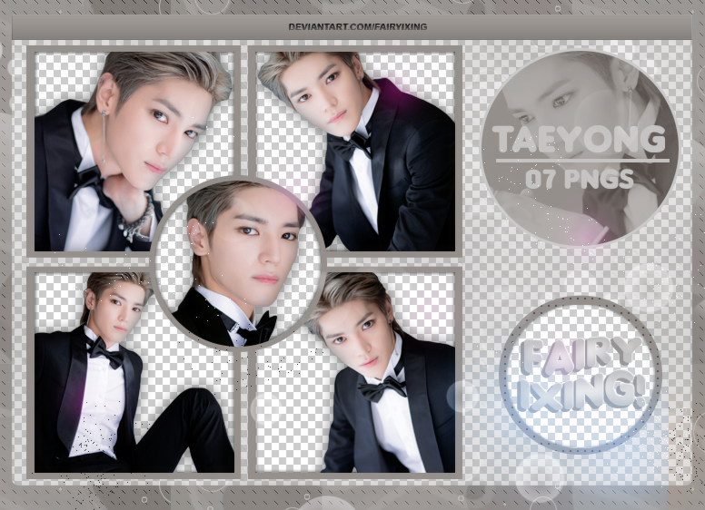 PNG PACK #840] Taeyong - NCT (NAVER) by fairyixing on DeviantArt
