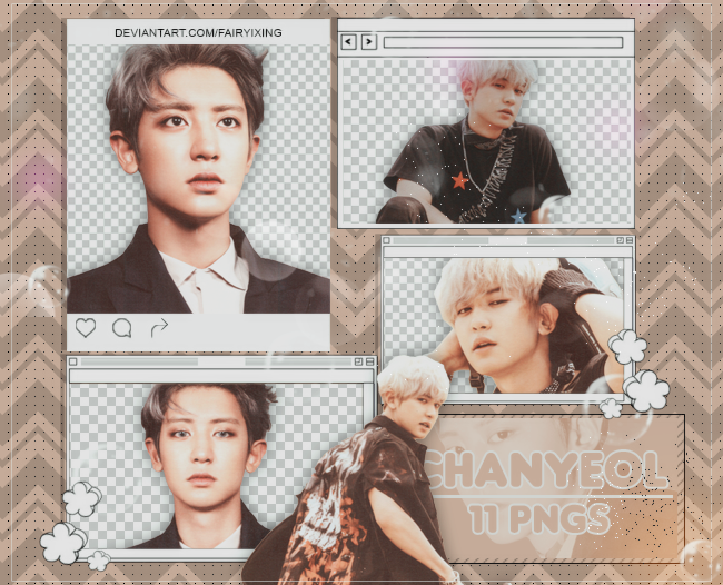 Png Pack 883 Chanyeol Exo Dmumt By Fairyixing On Deviantart