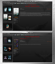 Dark themes for All My Books
