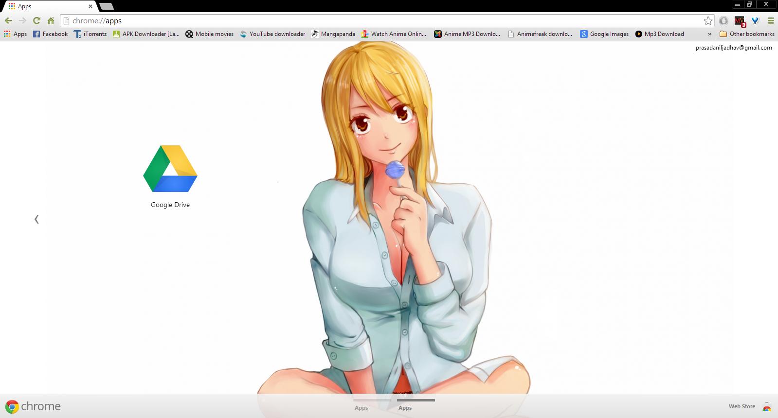 Google chrome themes youtube downloader -  Lucy Heartfilia Boobie Chrome Theme By Prasad9323 By Prasad9323