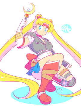 Sailor Moon x Mad Max