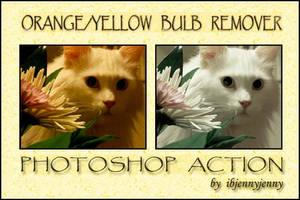 Orange Yellow Bulb Remover by ibjennyjenny