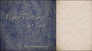 Paper Textures Set Two
