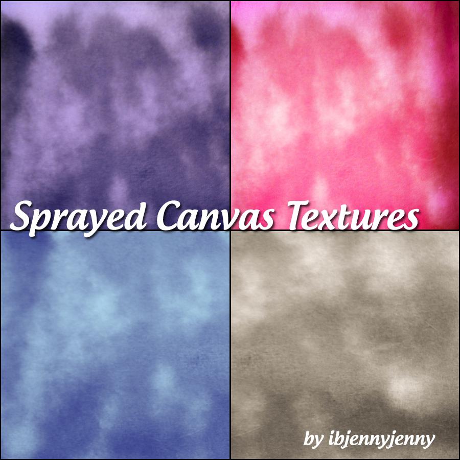 Sprayed Canvas Textures