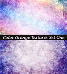 Color Grunge Textures Set One