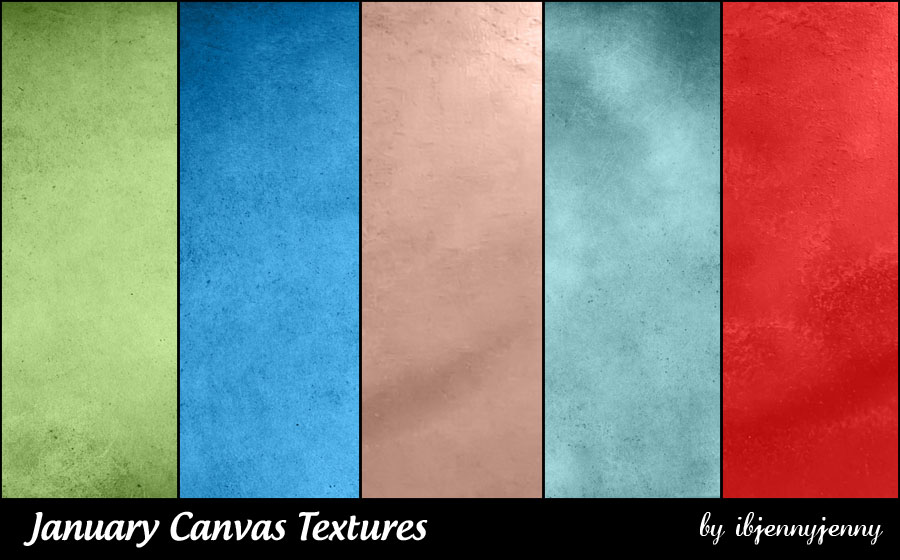 Free January Canvas Textures
