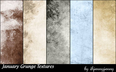 Free January Grunge Textures