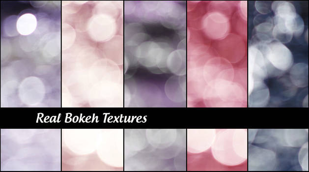 Real  Bokeh Textures
