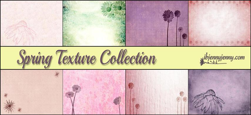 Free Spring Texture Collection + Brushes