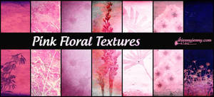 Pink Floral Textures