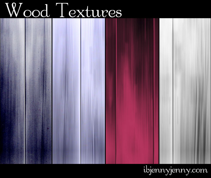 4 Free Colored Wood Textures