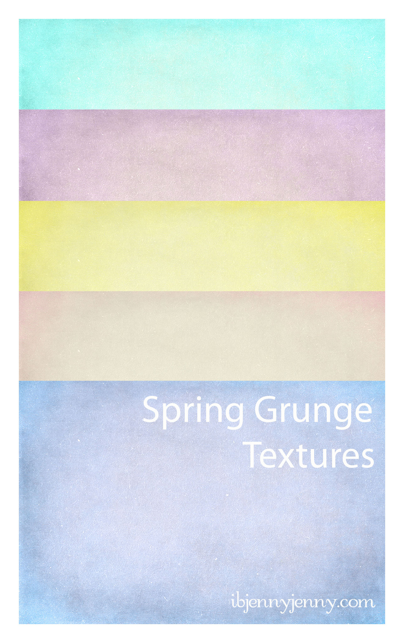 FREE Spring Grunge Textures by ibjennyjenny