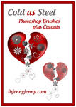 Valentines Day Photoshop Brushes plus Cutouts