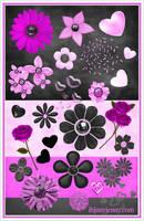 Free Valentine's Day Photoshop Resource Set by ibjennyjenny