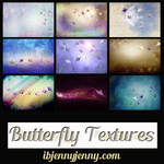 Free Set of Butterfly Textures