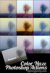 Free Color Haze Photoshop Actions