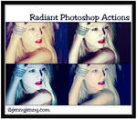Free Radiant Photoshop Actions