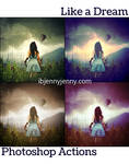 FREE Like A Dream Photoshop Actions