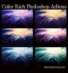 Color Rich Photoshop actions