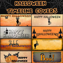 Facebook  Halloween Timeline Covers