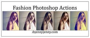 Free Fashion Photoshop Actions