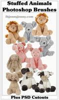 Stuffed Animal Photoshop Brushes By ibjennyjenny