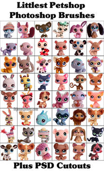 Littlest Petshop Photoshop Brushes