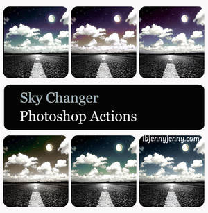 Sky Changer Photoshop Actions