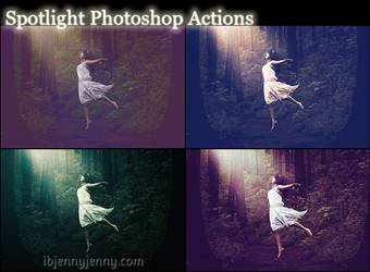 Spotlight Photoshop Actions