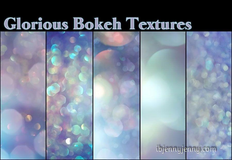 Glorious Bokeh Textures by ibjennyjenny