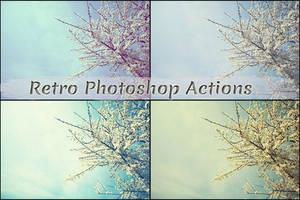 Free Retro Photoshop Actions by ibjennyjenny