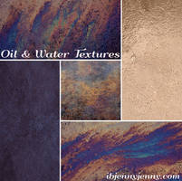 Oil and Water Textures
