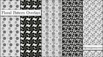 Floral Pattern Overlays Set 1