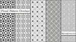 Floral Pattern Overlays Set 2
