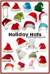 Free PNG Holiday Hats