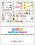 Free Easter Photoshop Brushes
