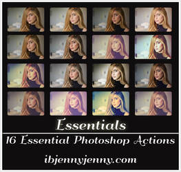 FREE Essentials Photoshop Actions