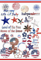 FREE 4th of July Photoshop Brushes