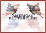 American Butterflies Photoshop Brushes + PNG's