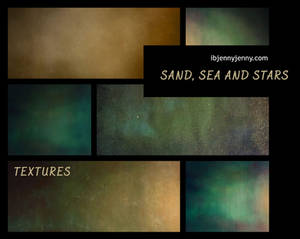 Sand Sea and Stars Textures