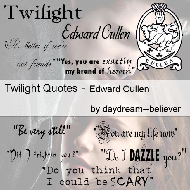 Twilight Edward quotes brushes