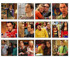 Big Bang Theory Avatars by daydream--believer