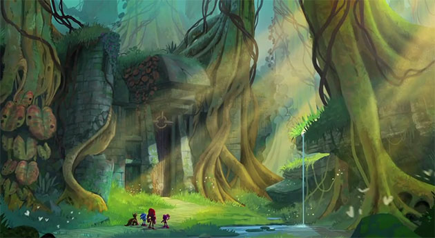 Sonic Universe MMORPG Concept by Generalorder4