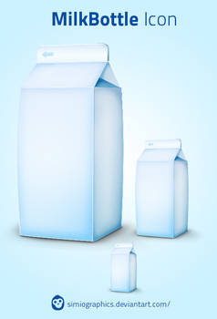 MilkBottle Icon
