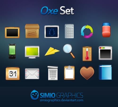 Oxe Icons Set
