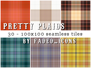 Pretty Plaids 001 by faded-ink